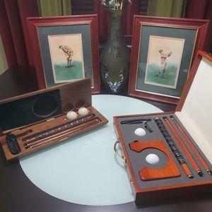 Other - (SOLD) Vintage Collector Golf Set